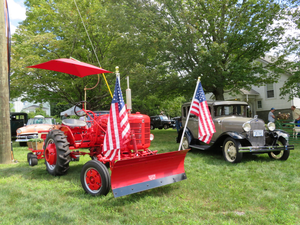 Antique Tractors, Classic Cars