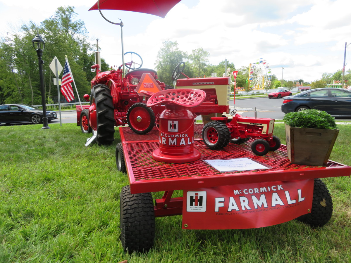 A Farmall and a Farmall Mini